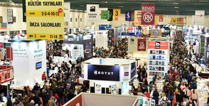 İstanbul Kitap Fuarı sona erdi