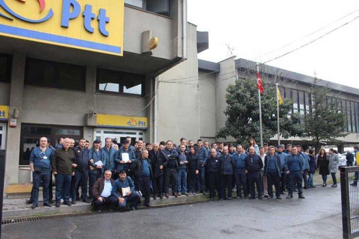 İşten atılan PTT taşeron işçileri: Haklarımızı almak için mücadele edeceğiz