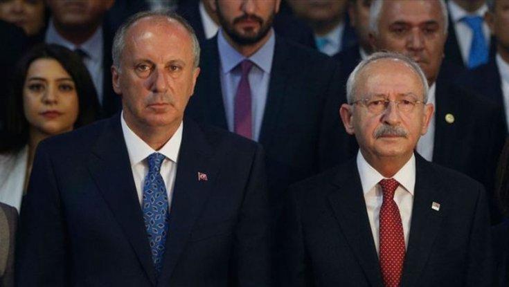 Kılıçdaroğlu ve İnce CHP Genel Merkezi'nde bir araya geldi