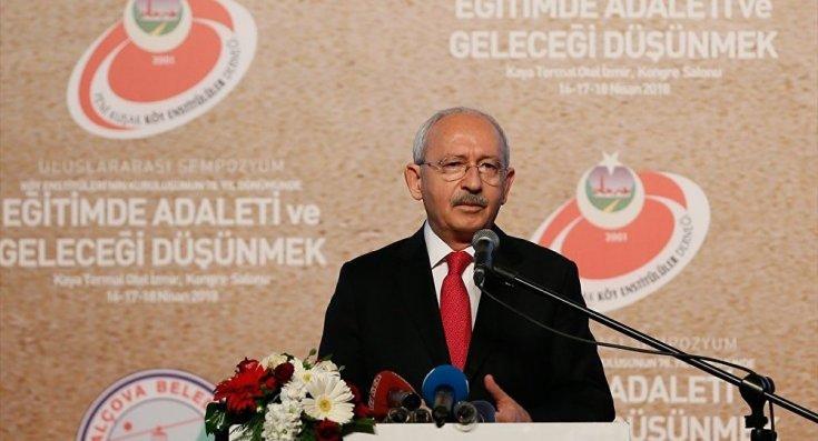 Kılıçdaroğlu: YSK'da yuvalanan bir çete arzu ettikleri sonucu ilan etti
