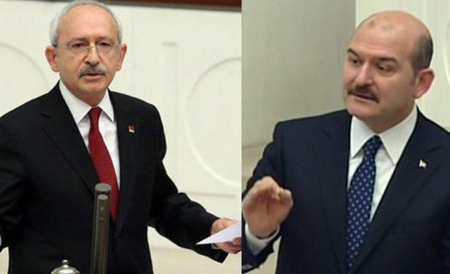 Kılıçdaroğlu'na hakaret eden Süleyman Soylu'ya 10 bin lira para cezası
