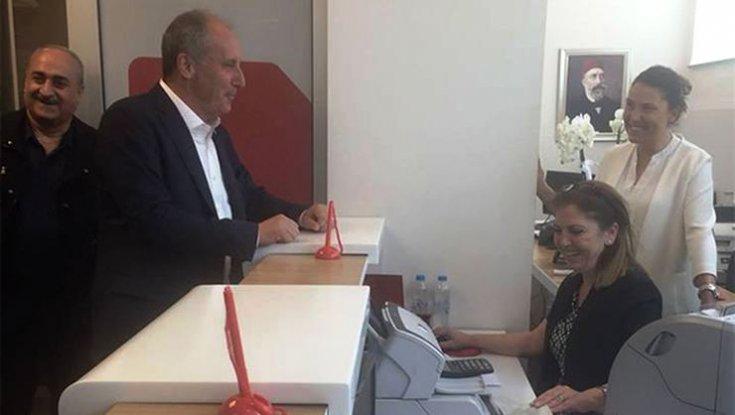 Muharrem İnce'den diğer cumhurbaşkanı adaylarına 500 lira bağış