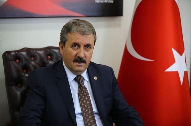 Mustafa Destici: Tecavüzcüler ve terör suçluları için idam istiyoruz