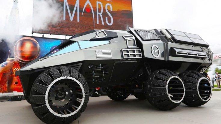 NASA, Mars aracını New York sokaklarında görücüye çıkardı