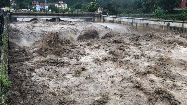Ordu'da sel sularına kapılarak kaybolan vatandaşın cansız bedenine ulaşıldı