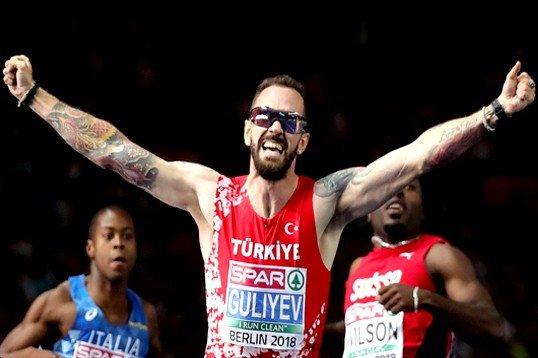 Ramil Guliyev rekor kırarak Avrupa Şampiyonu oldu