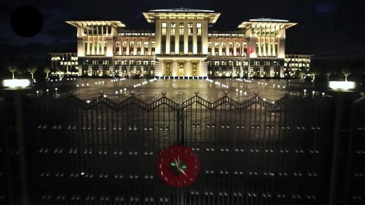 Sarayın elektrik tüketimi bin 300 konuta eşit