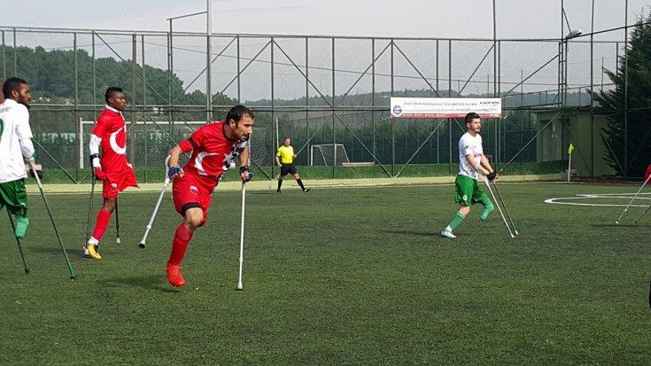 Şişli Yeditepe Engelliler Spor Kulübü, Konya Engelliler Gücü'nü 1-0 mağlup etti