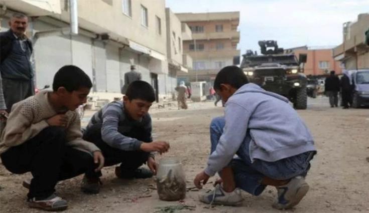 Son iki yılda patlayıcılar yüzünden 19 çocuk yaşamını yitirdi