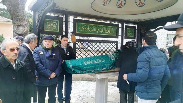 Turgut Ünlü'nün kayınpederi Mustafa Turhan son yolculuğuna uğurlandı