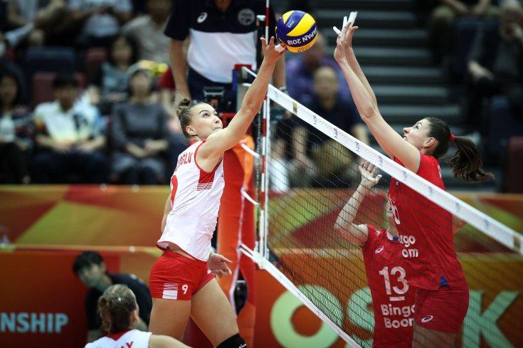 Türkiye, Kadınlar Dünya Voleybol Şampiyonası'nda Rusya'ya 3-0 mağlup oldu