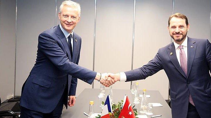 Türkiye ve Fransa'dan ABD'ye karşı ortak tavır kararı
