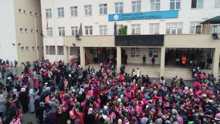 Türkiye'nin en kalabalık ilkokulu: Öğrenci sayısı 66 ilçeden fazla