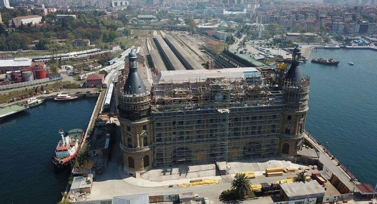 Ulaştırma ve Altyapı Bakanlığı'ndan Haydarpaşa Garı açıklaması: 'Tarihi kalıntıların restorasyonla ilgisi yok'