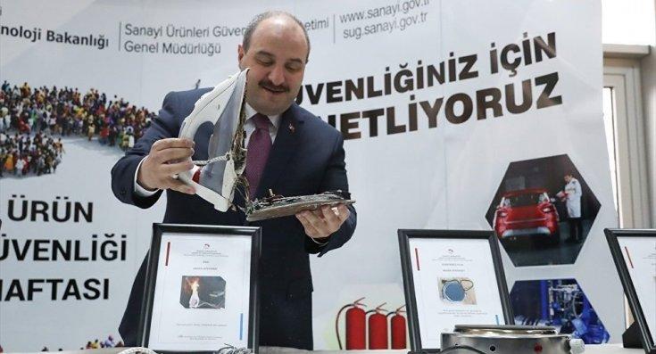 Varank: 178 güvensiz ürün piyasadan toplatıldı