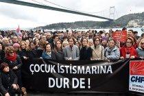 CHP'den 'Çocuk İstismarına Hayır' eylemi