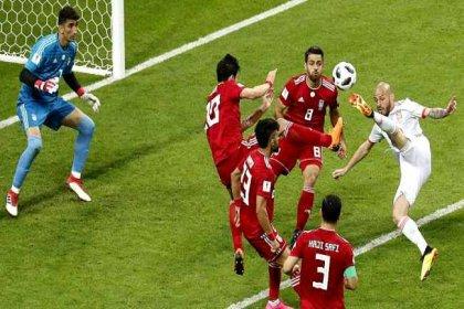 İspanya, İran'ı 1-0 mağlup etti