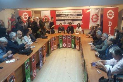 3 sendika, tutuklu bulunan havalimanı işçileri için kampanya başlattı: 'İşçiler serbest bırakılsın, patronlar yargılansın'