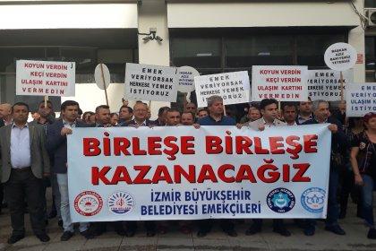 İzmir'de 4 sendikadan ulaşım için ortak eylem