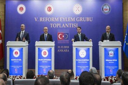 5. Reform Eylem Grubu Toplantısı sonrası 4 bakandan ortak açıklama