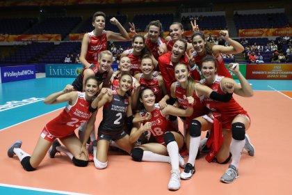 A Milli Kadın Voleybol Takımı Dünya Şampiyonasına galibiyetle başladı