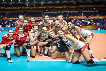 A Milli Kadın Voleybol Takımı, Dünya Şampiyonası'nda 2. tura yükseldi