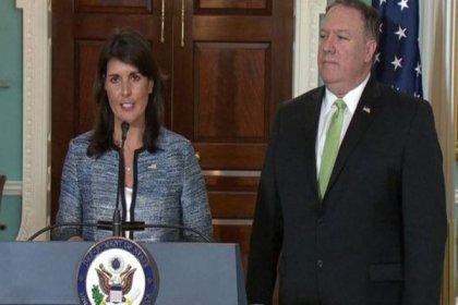 ABD, Birleşmiş Milletler İnsan Hakları Konseyi'nden çekildi