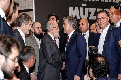 Abdullah Gül ile Karamollaoğlu, 'Erbakan Ödülleri 2018' ödül töreninde