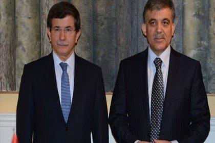 Abdullah Gül ve Ahmet Davutoğlu'ndan sürpriz görüşme