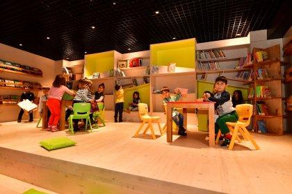 Adile Naşit Çocuk Kütüphanesi Beylikdüzü'nde açıldı