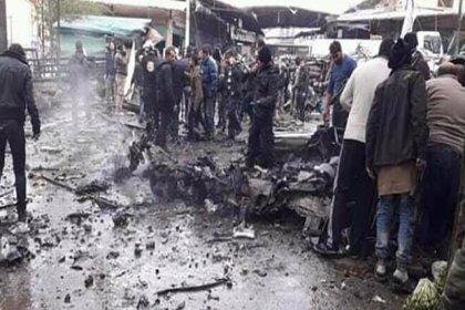 Afrin'de pazar yerinde patlama: En az 4 ölü, 20 yaralı