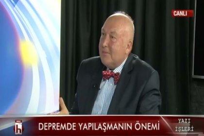 Ahmet Ercan: Marmara'da yapılaşmayı 7.5'lik deprem olacakmış gibi tasarlamak gerekiyor