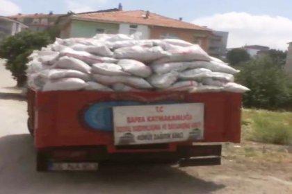 AKP, haziran sıcağında kömür dağıttı