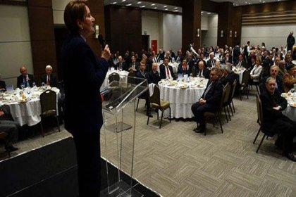 Akşener, Ankara'da 300 siyasetçiyle yemekte buluştu