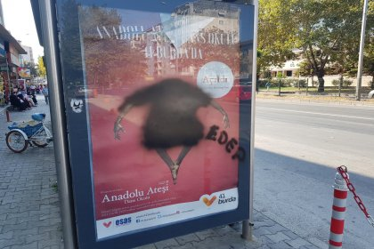 Anadolu Ateşi'ne sansür: Dansçıyı boyadılar!