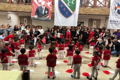 Anadolu Yakası Bosna Sancak Derneği, 23 Nisan'ı coşkuyla kutladı