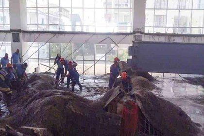 Ankara'da okul inşaatında ıslak beton çöktü: 3 işçi yaşamını yitirdi, 1 kişi yaralandı
