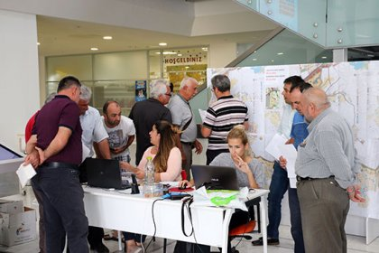 Antalya Çalkaya'da imar planları askıya çıktı