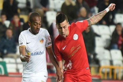 Antalyaspor-Kayserispor maç sonucu: 0-2