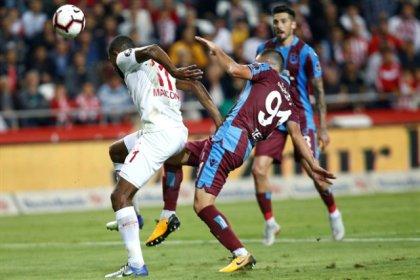 Antalyaspor, Trabzonspor'la  1-1 berabere kaldı