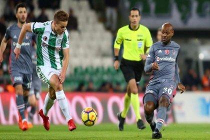 Atiker Konyaspor 1-1 Beşiktaş
