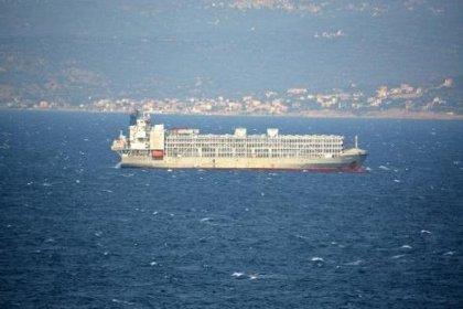 Bakanlıktan, şarbonlu hayvanları taşıdığı iddia edilen geminin İzmir'e demir atmasıyla ilgili açıklama