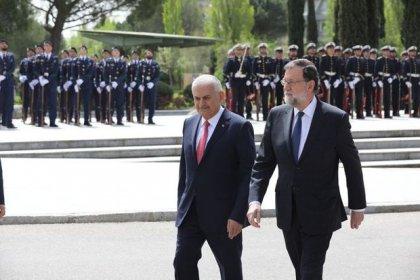 Başbakan Binali Yıldırım ve İspanya Başbakanı Mariano Rajoy'dan ortak açıklama