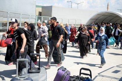 Bayram için ülkesine giden Suriyelilerin sayısı 8 bini aştı