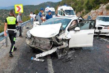 Bayramı tatilinin 5 günlük kaza bilançosu: 73 ölü, 332 yaralı