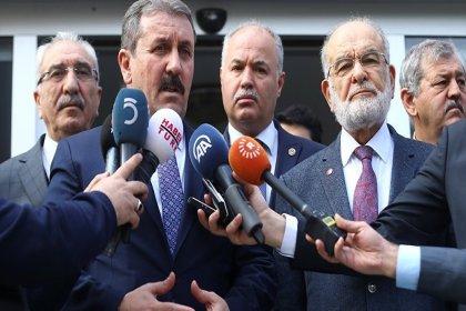 BBP Genel Başkanı Destici'den 'Cumhur İttifakı' yorumu