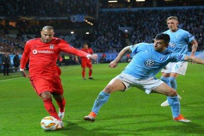 Beşiktaş, Malmö'ye 2-0 mağlup oldu