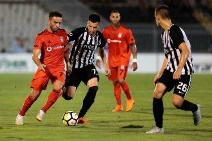 Beşiktaş, Partizan ile 1-1 berabere kaldı