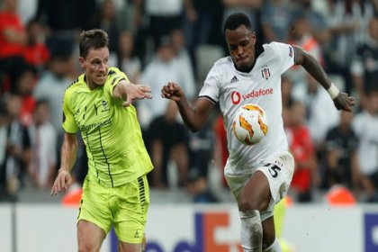 Beşiktaş UEFA Avrupa Ligi'ndeki rakibi Sarpsborg'u 3-1 yendi