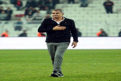 Beşiktaş'ın Teknik Direktörü Şenol Güneş: 'Üç puan almak bizim için önemliydi'